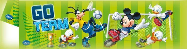 Festa a tema Topolino goal, addobbi ed accessori, feste compleanno per bambini - Palaparty S.r.l.