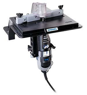 Dremel shaper router table attachment