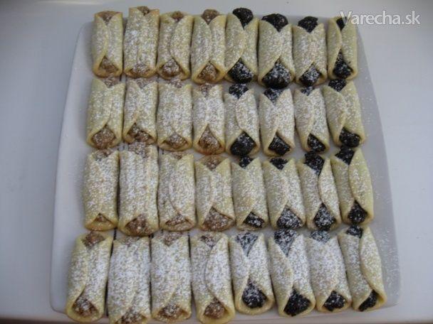 Výborné orechové závitky (fotorecept)