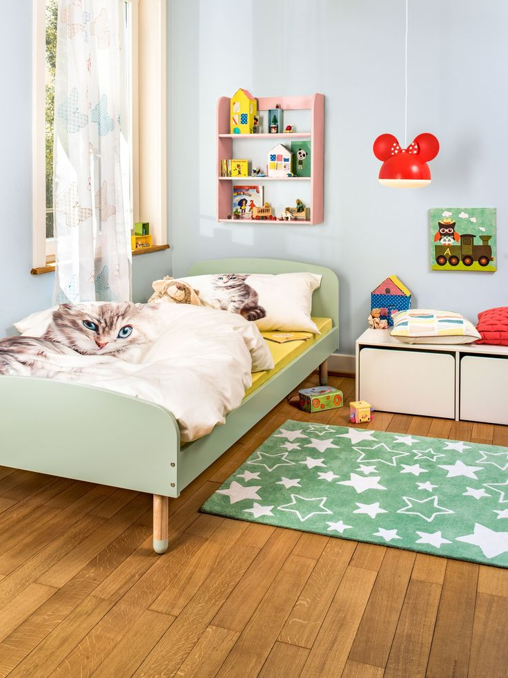 micasa kinderzimmer mit bett mint auch in anderen farben. Black Bedroom Furniture Sets. Home Design Ideas