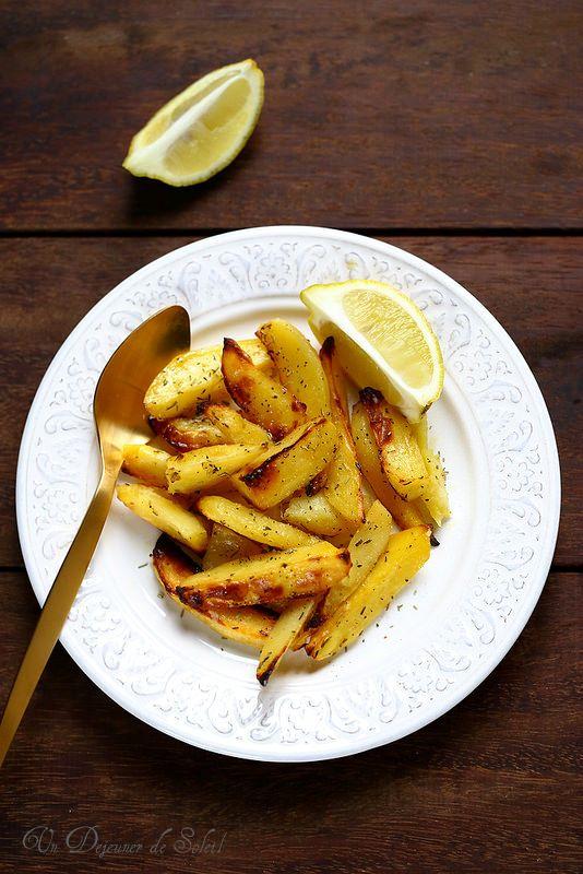 Un dejeuner de soleil: Pommes de terre rôties au citron