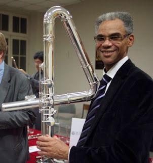 flute traversière contrebasse