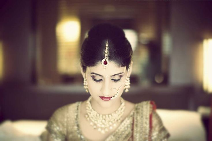 A bridal makeover by Sunita Divecha for Real Bride Simran Daryanani of WeddingSutra.