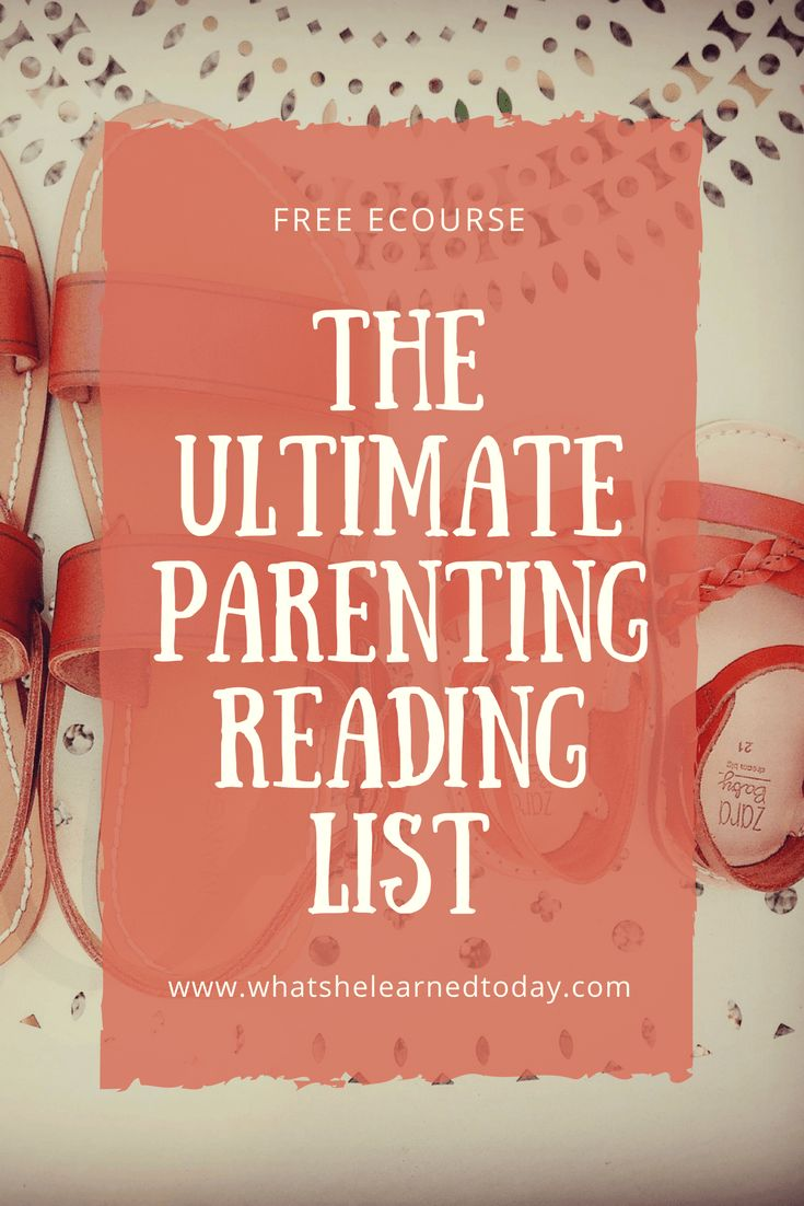 D.I.Y. Parenting Course--Includes the ultimate parenting reading list.