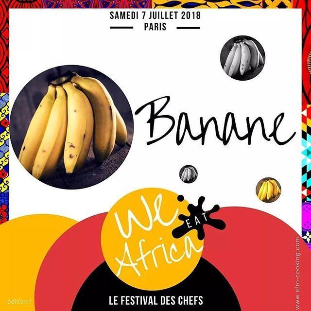 #WEAFESTIVAL : @we_eat_africa -  Quels plats à base de banane connaissez-vous ? Merci de préciser le pays d'origine  - ENTRÉES UNIQUEMENT SUR PRÉVENTES / INSCRIPTIONS - PLACES LIMITÉES - ENTRÉES EN PROMO JUSQU'AU 15 MARS - We Eat Africa Paris  Le samedi 07 juillet 2018 à la découverte des cuisines d'Afrique à travers les Chefs issus du continent  #WEAFESTIVAL #AFRICA #AFRICANFOOD #BANANE #BANANA -