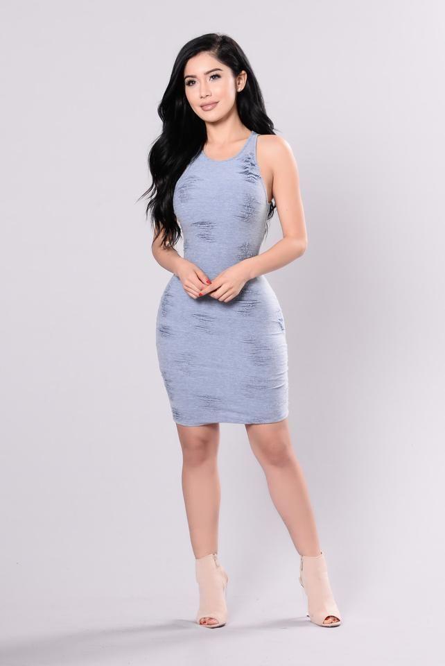 Street Smart Dress - Blue