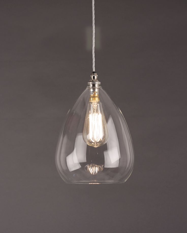 Wellington Clear Glass Pendant Light More