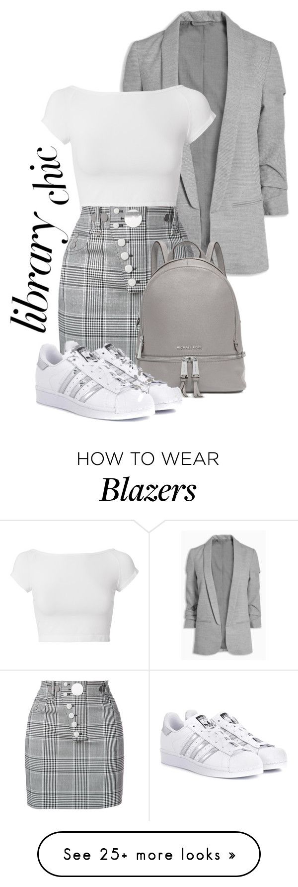 """ready to read...?"" by googdaber on Polyvore featuring Helmut Lang, Alexander Wang, Michael Kors and adidas Originals"