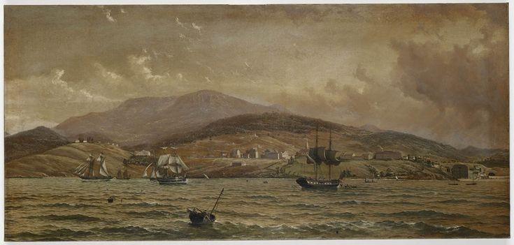 Hobart, 1829 / painted by Mrs A Prinsep