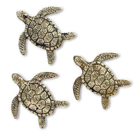 Sandy Brass Turtle   Mr Pinchy and Co   Luxury Decor – Salt Living or online at www.saltliving.com.au #saltliving #mrpinchyandco #brass #handmade