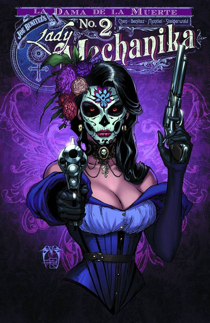 Shop for Lady Mechanika La Dama De La Muerte #2 (10 Copy Cover) from Benitez Productions - written by Joe Benitez. Comic book hits store shelves on November 2, 2016