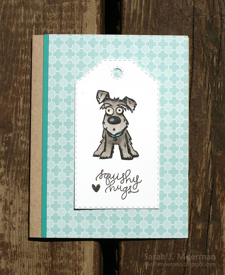 My Impressions: Mini Crazy Dogs Card Set