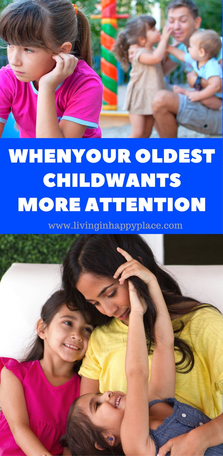 What to do when your oldest child feels like mom is only taking care of younger siblings. Sibling jealousy over mom's time can be a struggle. Whether you are bringing home a new baby brother/sister or juggling a large family, oldest sibling jealousy can bring on attention seeking behaviors. Ways to bond with your child and deter attention seeking in older siblings #attention #attentionseeker #sibling #parenting