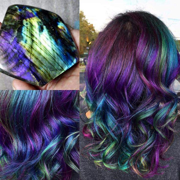 10 best Galaxy Hair Color images on Pinterest | Color de pelo estilo ...