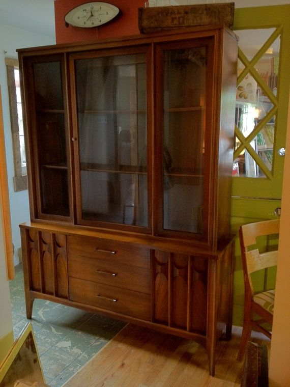 mid century china cabinet used broyhill for sale edmonton in windsor on kijiji