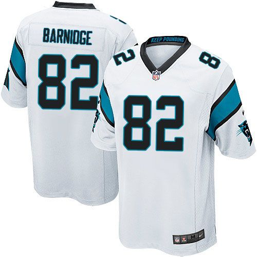 Youth Nike Carolina Panthers #82 Gary Barnidge Limited White NFL Jersey Sale
