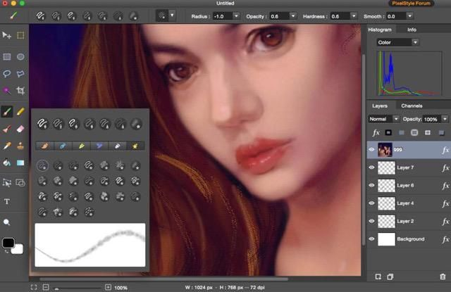 Paint for Mac Pro is the best Mac version of paint program used to edit image, filters and paint on Mac. A good alternative to Paint Tool Sai Mac.