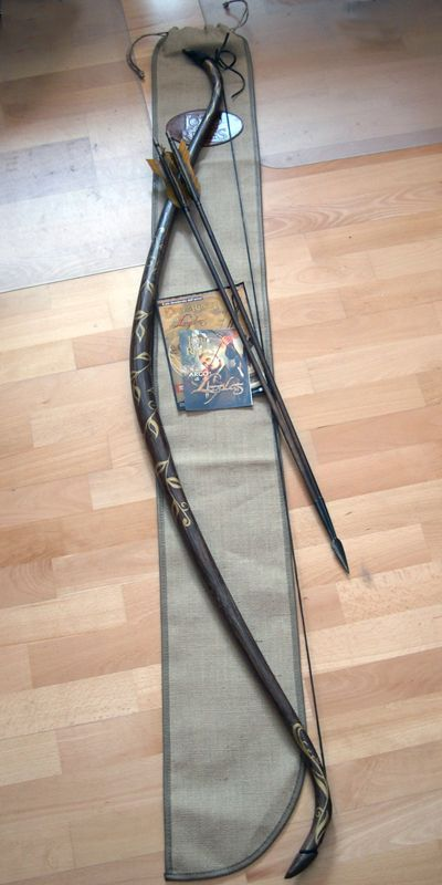 """Arco de Legolas """"Mirkwood"""" - El Señor de los Anillos  [AGDLXLB]. I would just DIE if I could show up to archery with this bow <3"""