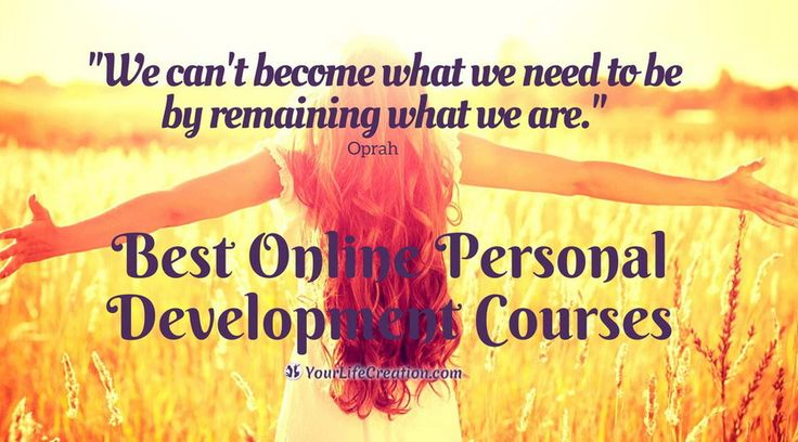 Take your next step toward your goals and dreams to create the best version of you with some of the Best Online Personal Development Courses. #onlinecourses #personaldevelopment #selfhelp #selfimprovement #selfdevelopment #Oprah #quote