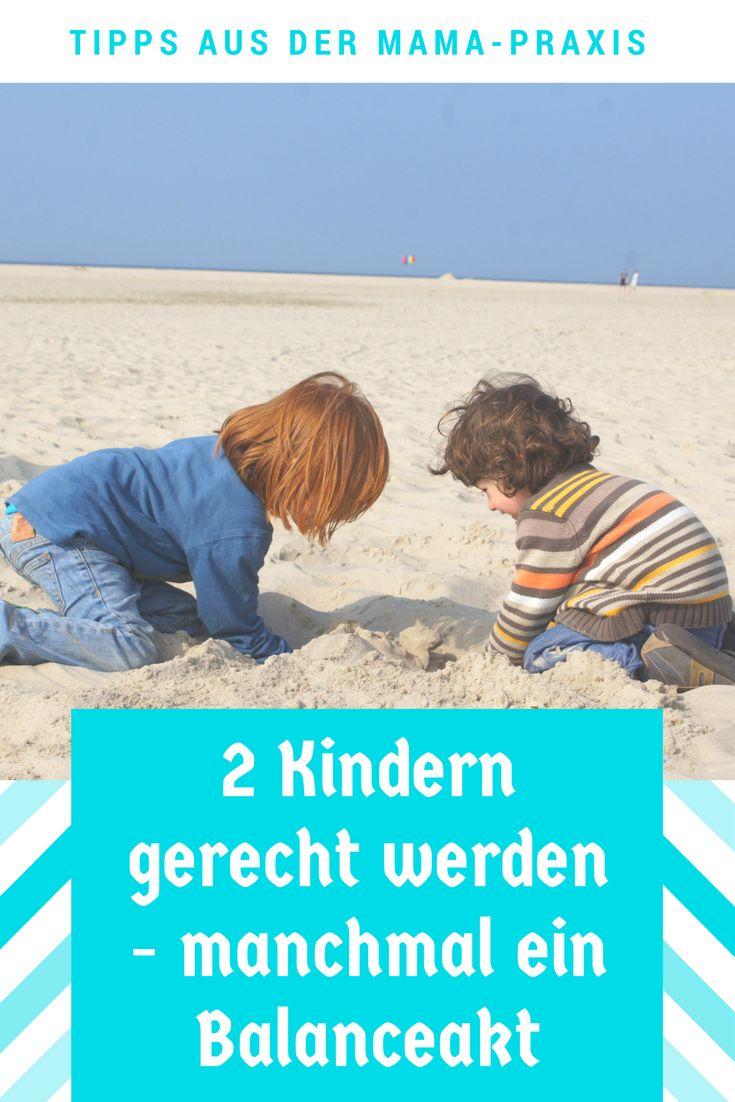 Zwei Geschwisterkindern gerecht zu werden ist manchmal nicht einfach. Ein Patentrezept für Eltern gibt es nicht, aber enige Tipps.