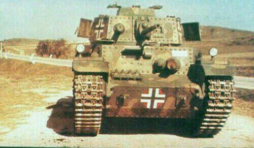 40M Turán I  Hungarian medium tank in German  Army