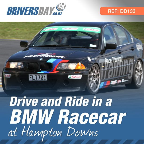 For $400 you can drive a huge 6 laps in this fully race prepared BMW, then swap seats with the highly skilled instructor and in three flat-out hot laps he'll show you what it's really capable of!