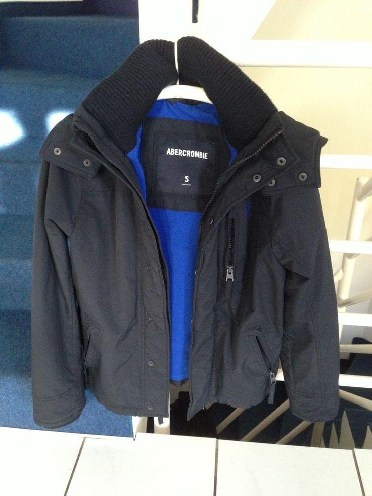 Winterjacke,blau von ABERCROMBIE, Herren S in Kleidung & Accessoires, Herrenmode, Jacken & Mäntel | eBay