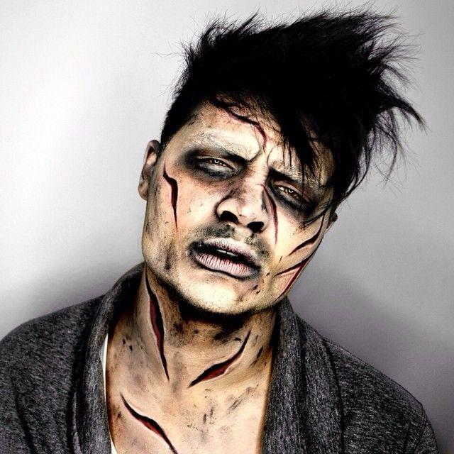 exorcist makeup inspired alex faction halloween makeuphalloween ideascreative makeupprofessional - Halloween Makeup Professional