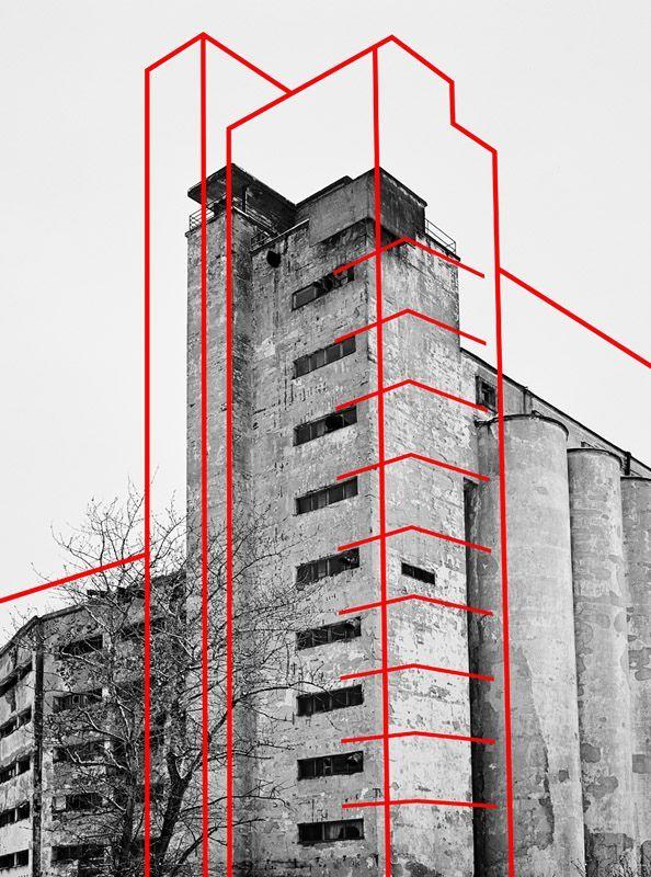 Strukturlinien auf Bausteinen | (über www.pint …..