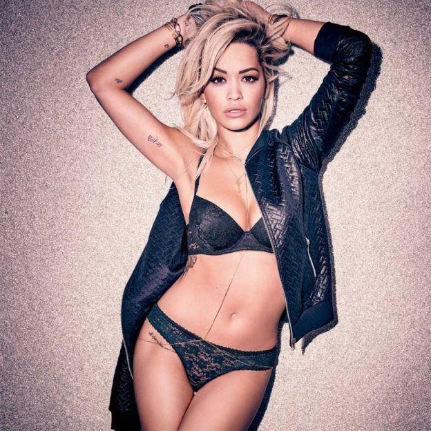 Sänger Rita Ora in der Kampagne Unterwäsche Tezenis | Mode