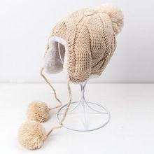 Bonito Franja De Crochê Projeto Protetores de Orelha Quente Cap Chapéu Da Menina do Menino Cap bebê Chapéu Do Bebê Para O Bebê Recém-nascido Fotografia Adereços Gota grátis(China (Mainland))