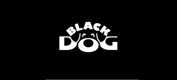 Black Dog Timeless and Classic Logo Design