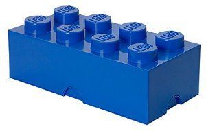 Lego Storage Brick 8 Blue: Amazon.co.uk: Kitchen & Home
