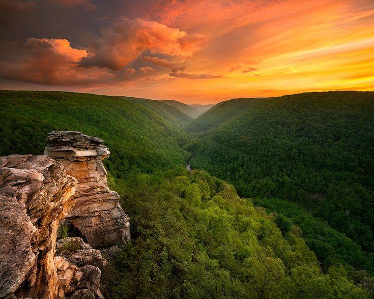 #3. Park stanowy Blackwater Falls, Wirginia Zachodnia