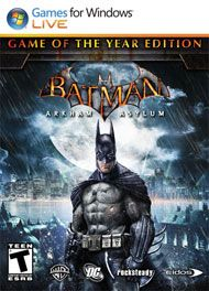 Boxshot: Batman: Arkham Asylum Game of the Year Edition by Warner Home Video Games