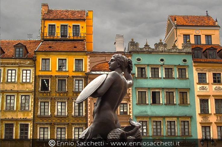 Warsaw Varsavia HDR