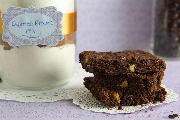 Espresso Brownie Mix from www.chocolatemoosey.com