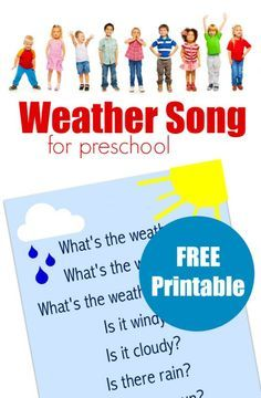 weather song for preschool                                                                                                                                                     More