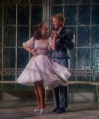 Liesl  and Rolfe dancing in the gazebo in The Sound of Music. Have been looking for a replica of this dress to wear myself since i was a little girl.