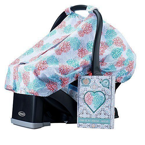 Baby Car Seat Cover For Girls Boys Infant Car seat Canopy NEW #CarseatCanopy