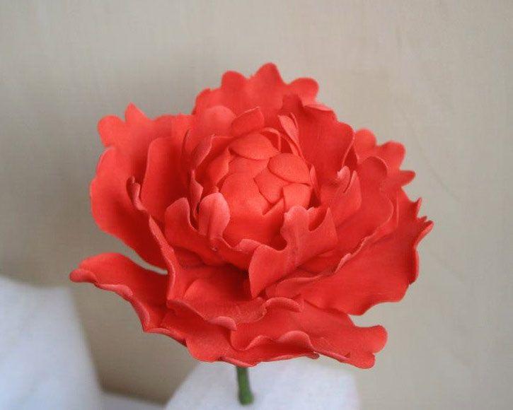 cum sa facem flori din pasta de zahar