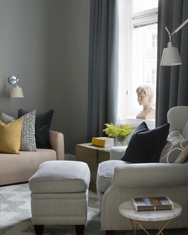 , hvordan mikse stiler, farger etc - hva synes du er viktig i en stue ...