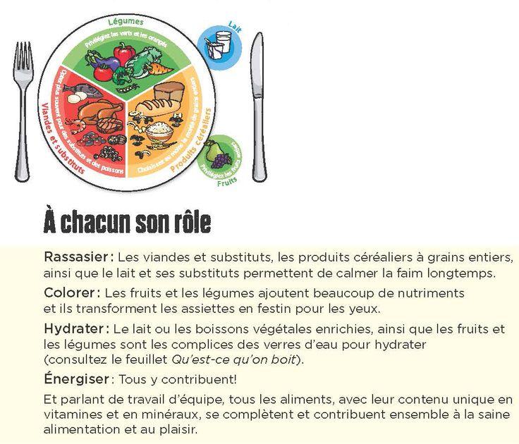 Simplifiez-vous la vie avec l'assiette équilibrée et partagez l'info avec les parents : http://www.gardescolaire.org/outils/lassiette-equilibree/ #gardescolaire #repas