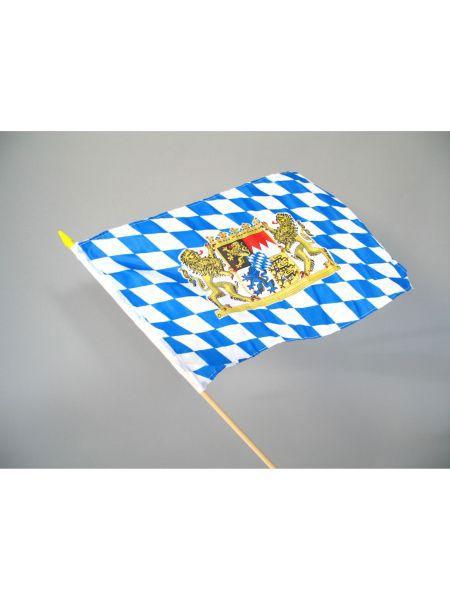 https://11ter11ter.de/9339537.html  Fahne Freistaat Bayern, ca. 30 x 45 cm, m. Stab  #bayern #wiesn #oktoberfest #party #deko #mottoparty #blau #weiß #fahne #flagge #11ter11ter