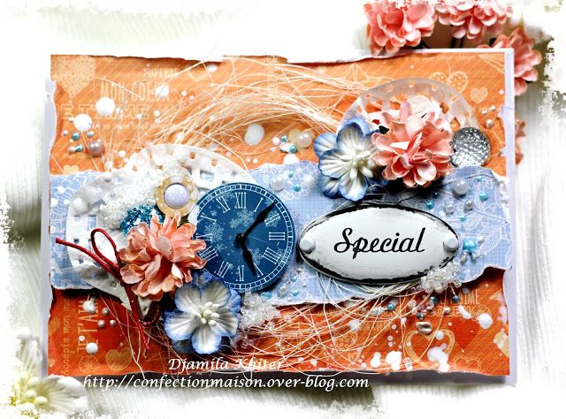 Scrapberry's: Scrapberry's: Gorgeous 'Special' Card by Djamila Khiter