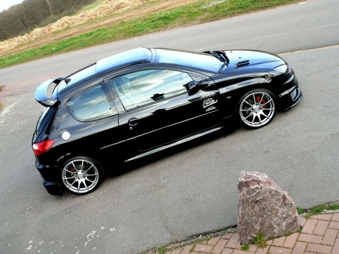 peugeot 206 17 wheels | peugeot - 206 - peugeot 206 -blackrider