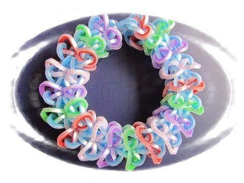 MASKARA Hook only bracelet tutorial - YouTube