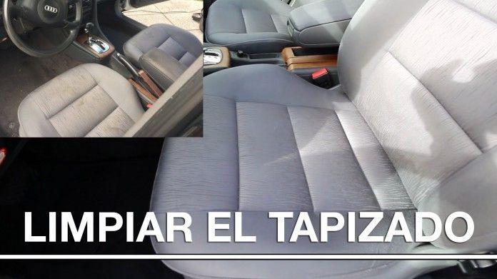 Tutorial como limpiar el tapizado de un coche - MasQmotor