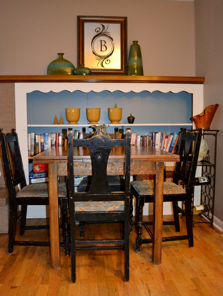 Small dining area ideas for the home pinterest small for Small dining area