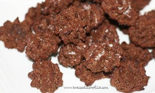 Biscotti al cocco e cioccolato: senza glutine, lieviti, nè latticini